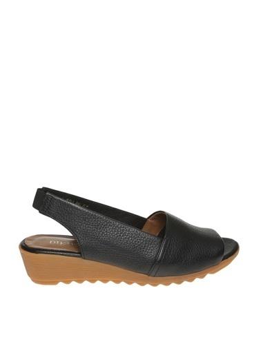 Divarese Divarese Sandalet Siyah